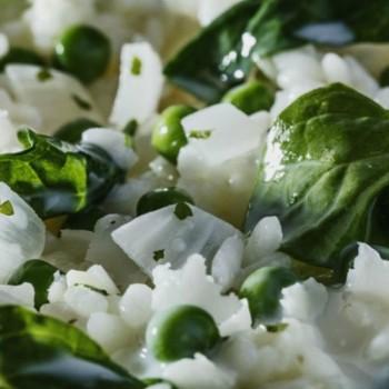 Risotto aux Légumes Verts