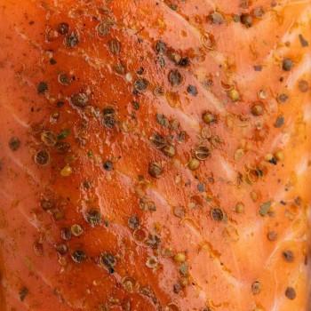 Coeur de Saumon aux épices Caucasienne
