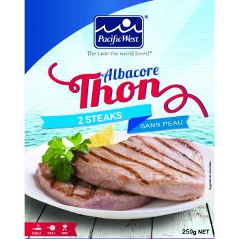 2 Steaks de Thon Albacore