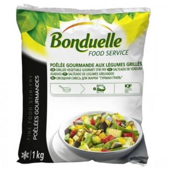 La Poêlée Gourmande aux Légumes Grillés