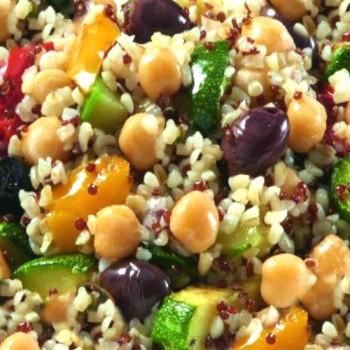 Salade de Boulgour et Quinoa