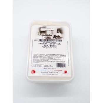 Crème Glacée Vanille Tradition