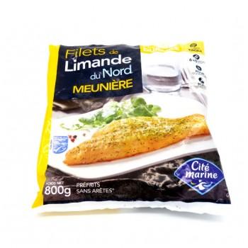 6 Filets de Limande Meunière