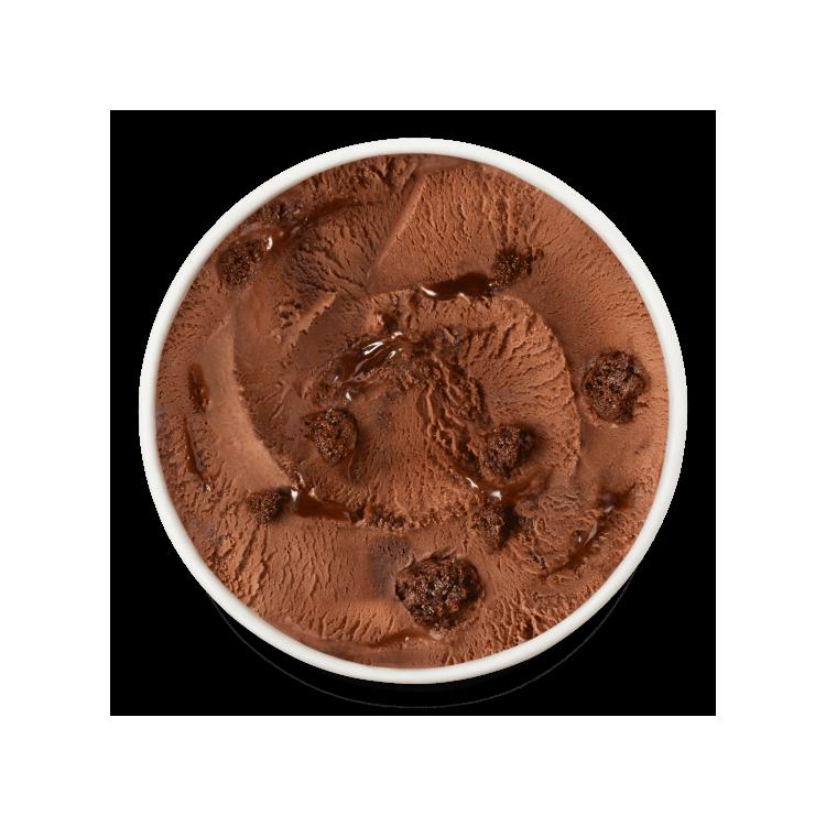 Crème Glacée Chocolat Brownie