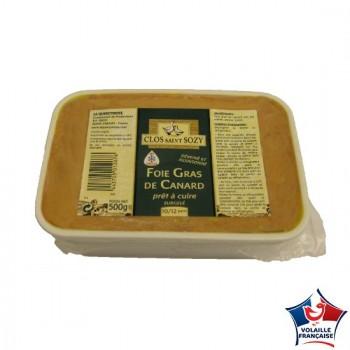 Terrine de Foie Gras de Canard prêt à cuire