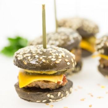 24 Mini-Blacks Burgers 18g