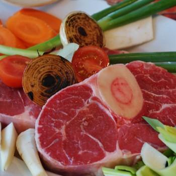 5 Tranches de Jarret de veau