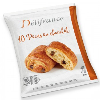 10 Pains au Chocolat beurre 60g