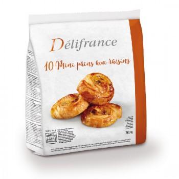 10 Mini-Pains aux Raisins 30g