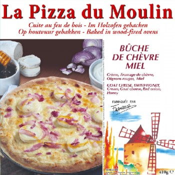 Pizza Chèvre Miel Oignons