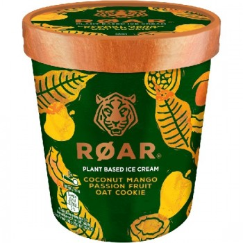 Pot Roar Glace Noix Coco Sauce Mangue Passion Biscuits d'Avoine