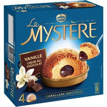 4 Mystère Vanille Cœur au Chocolat