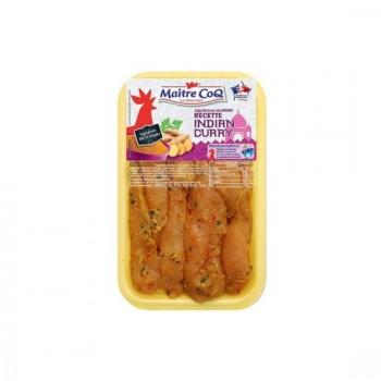 Aiguillettes de Poulet Curry et Coco