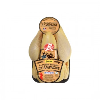 Poulet Noir Label Rouge de Challans 1.5kg