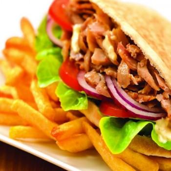 Lamelles de Poulet Façon Kebab Cuites