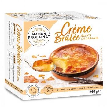 2 Crèmes Brulées 120g