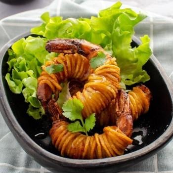 40 Crevettes en Cocon de PDT 25g