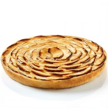 Tarte aux Pommes Pur Beurre découpée