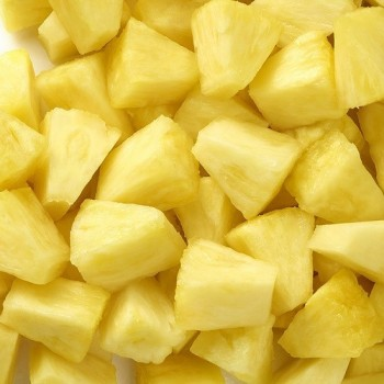 Cubes d'Ananas